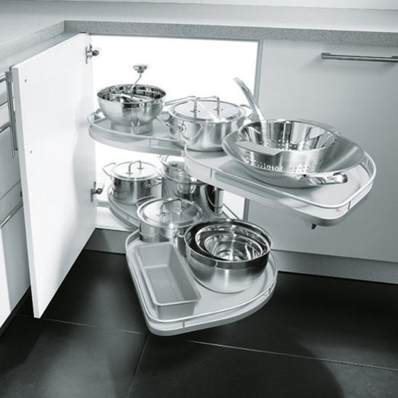 cuisine aménagée - l'aménagement d'intérieur et rangements