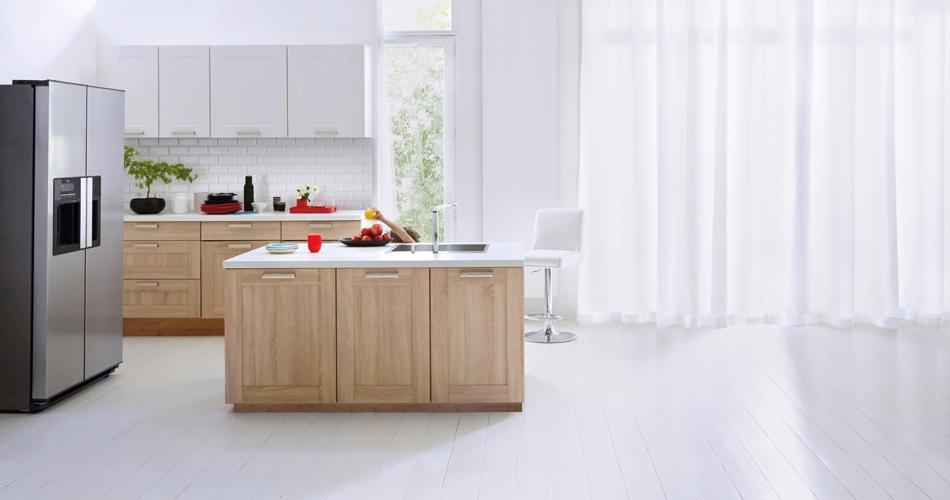 Decoration De Cuisine Ikea : Cuisine Nature Osalite Bois clair