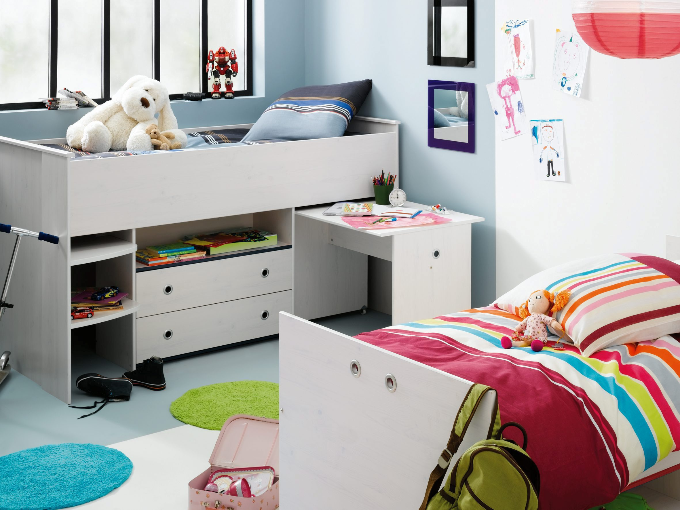 lit combine bureau enfant maison design. Black Bedroom Furniture Sets. Home Design Ideas