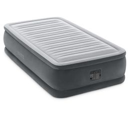INTEX Matelas gonflable 1 place DURABEAM