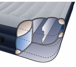 Matelas gonflable 1 place INTEX DELUXE REST BED