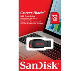 Divers accessoires tablettes SANDISK Cruzer Blade 32 GB