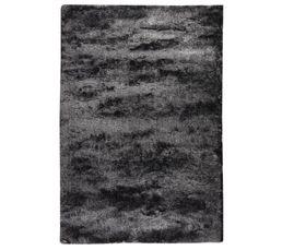 Tapis 60X90 cm SILKY Noir