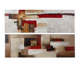Toiles assorties 50 x 150 cm IMPRESS 2 modèles au choix