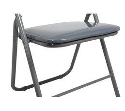 Chaise pliante GLOSS Gris