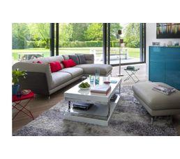 tapis 160x230 cm hybride gris - Tapis 160x230