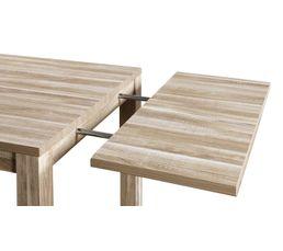 Allonge table de séjour rect. STONE Chêne gris