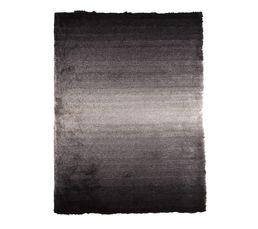MOON Tapis 160x230 cm noir/gris