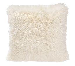 ALASKA Coussin 48 x 48 cm blanc