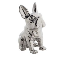 DOGGYDOG Statue Silver
