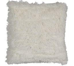 ALASKA Coussin 60 x 60 cm blanc