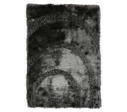 SPIRAL Tapis 120x170 cm gris