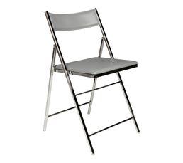 chaise pliante tribeca gris pas cher avis et prix en promo. Black Bedroom Furniture Sets. Home Design Ideas