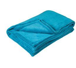 COCOON Plaid 140x200 cm bleu