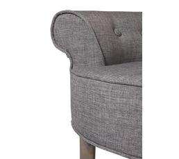 Fauteuil H. 58 cm KATE gris