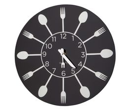 KITCHEN Horloge Noir