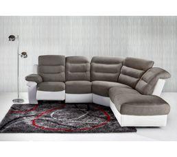 Tapis 120x170 cm AVENUE gris/rouge