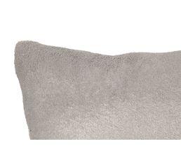 Coussin lurex 30x50 cm COCOON gris