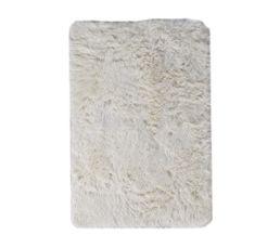 tapis 60x90 cm alaska blanc - Tapis Blanc