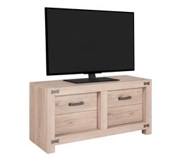 Meuble TV 2 portes PAPILLON TV1K540