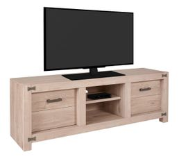 Meuble TV 2 portes PAPILLON TV2K540