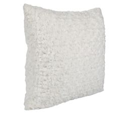 Coussin 40x40 Rosa blanc
