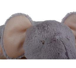 Peluche ELEPHANT gris clair