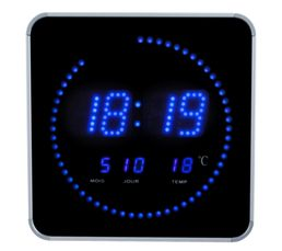 DIGITALE Horloge LED Bleu