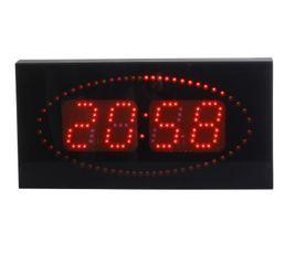 Horloge LED DIGITALE Rouge