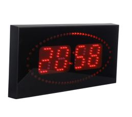 DIGITALE Horloge LED Rouge