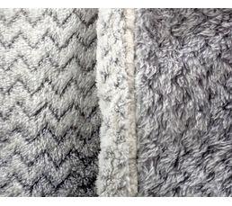Plaid 130x160 cm MILANO gris
