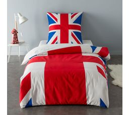 140X200 cm + 1 taie d'oreiller  UK FLAG