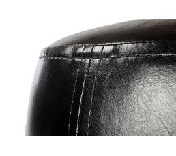 Pouf L.31 - l.31 - H. 32 cm SEATTLE noir