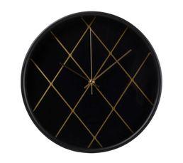 MILANO Horloge D.30 cm Noir