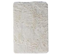 ALASKA Tapis 120x170 cm blanc