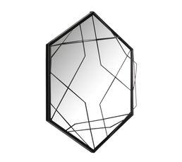 3D Miroir D.50 Noir