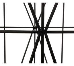 table bout canap noir petits meubles but. Black Bedroom Furniture Sets. Home Design Ideas