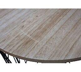 Table bout canapé D.40  Noir