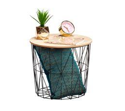 bout de canap scandinave cross noir bouts de canap but. Black Bedroom Furniture Sets. Home Design Ideas