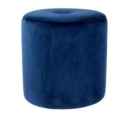 MILANO Pouf Bleu