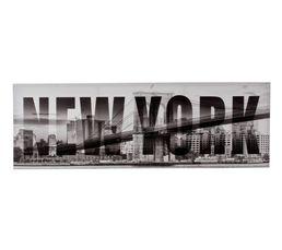 Toile 40x120 NEW YORK Imprimé