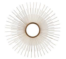Miroir rond ø 74,5 cm SOLEIL Doré