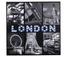 London Canvas led Imprimé