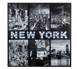 Canvas led New York toile led Imprimé