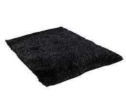 Tapis 160x230 cm DISCO Noir
