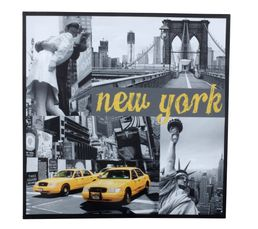 SOHO Toile 30x30 Multicolor