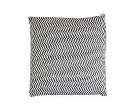 Coussin 45x45 cm SEATTLE Blanc/Noir