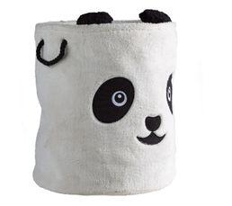 PANDA Panier à jouets Blanc