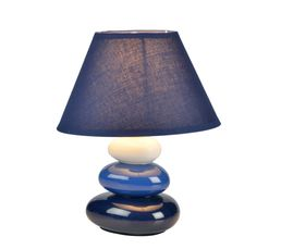gallery of lampe de chevet emma bleu with table de chevet anglais. Black Bedroom Furniture Sets. Home Design Ideas