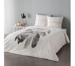 housse de couette 240x220cm 2 taies d 39 oreiller dreamcatcher linge de lit but. Black Bedroom Furniture Sets. Home Design Ideas